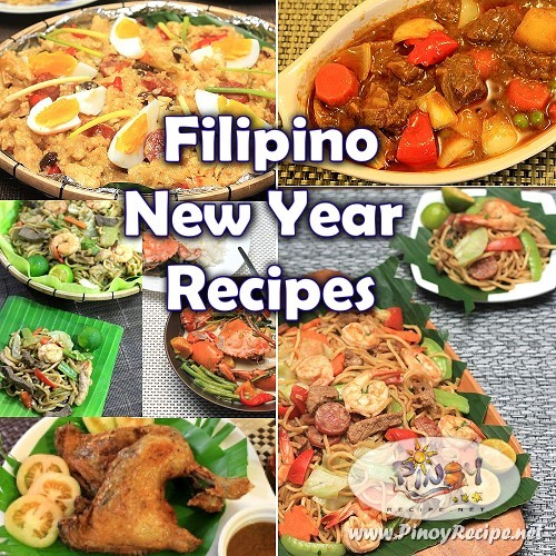 Pinoy New Years Eve Food