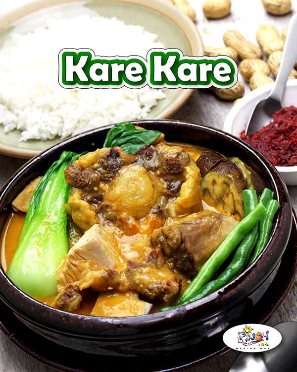 Beef Kare Kare Recipe