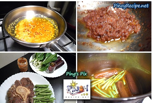 beef kare kare ingredients