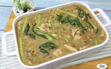 Ginisang Monggo with Chicken