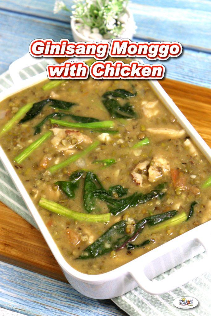 Ginisang Monggo with Chicken Recipe