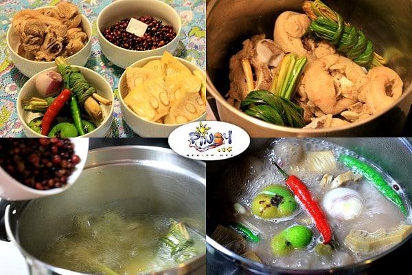 Kadyos Baboy Langka Ingredients