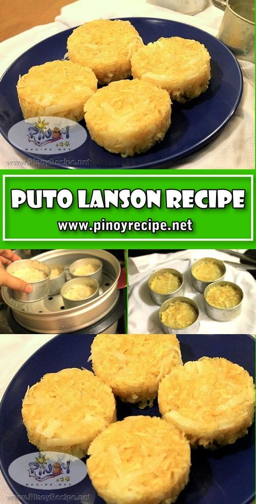 Puto Lanson Recipe