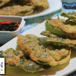 Filipino Kangkong Fritters Recipe