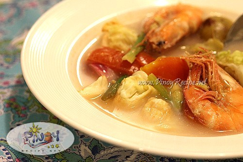 filipino shrimp sinigang recipe