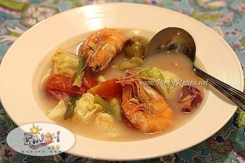 filipino shrimp sinigang