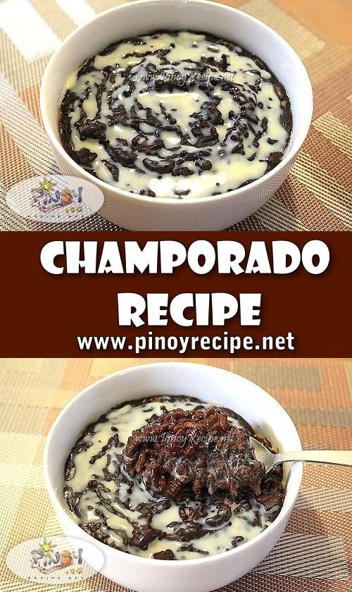 Champorado Recipe