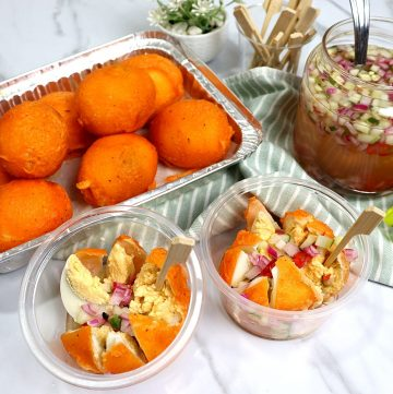 Tokneneng Recipe is a delicious Filipino street food