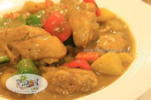 chicken curry filipino recipe