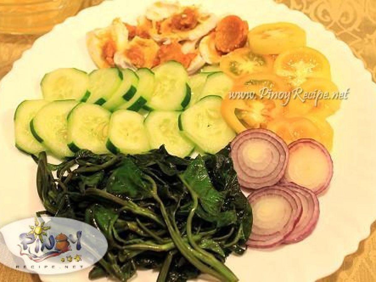 Kangkong Salad Recipe