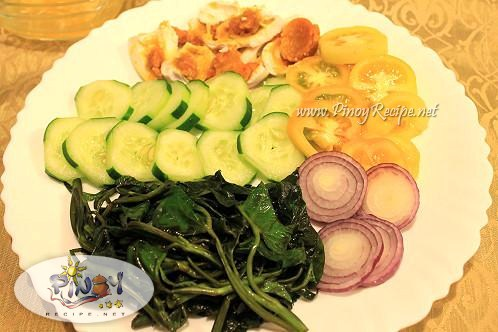 kangkong salad recipe