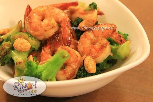 shrimp broccoli stir fry recipe