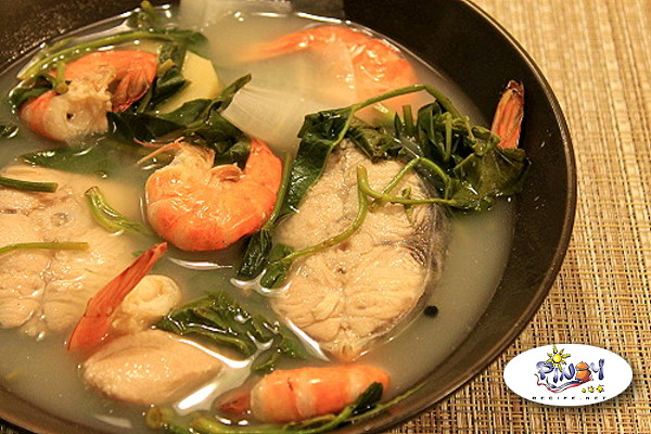 Seafood Sinigang Filipino Recipe