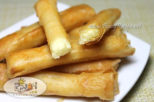 cheese stick pinoy recipe