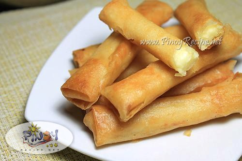 filipino cheese stick recipe