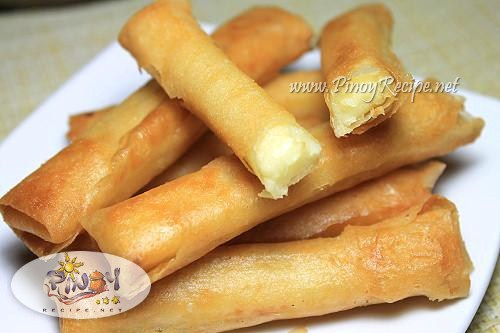 pinoy cheese stick recipe