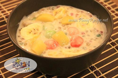 Ginataang Halo halo pinoy Recipe