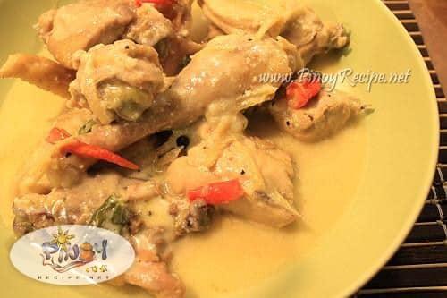 chicken hinalang or hinalang na manok