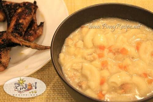 chicken sopas
