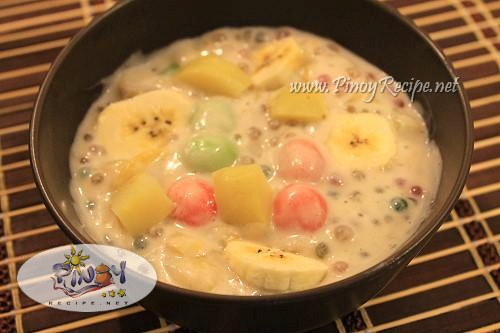 Ginataang Halo halo Recipe - Filipino Recipes Portal