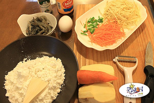 Okoy Ingredients