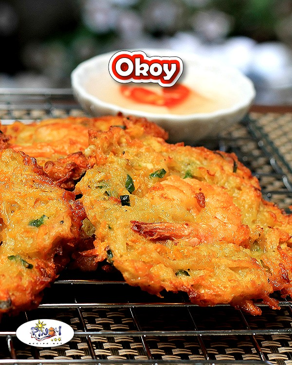 Ukoy or Okoy Recipe is a delicious dish that is very popular in the Philippines, it is an easy to cook and flavorful Filipino appetizer.