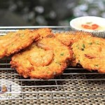 Ukoy Recipe or Okoy, a Filipino style Shrimp Fritters