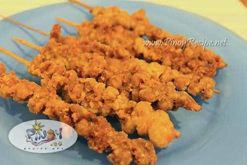 crispy fried isaw recipe