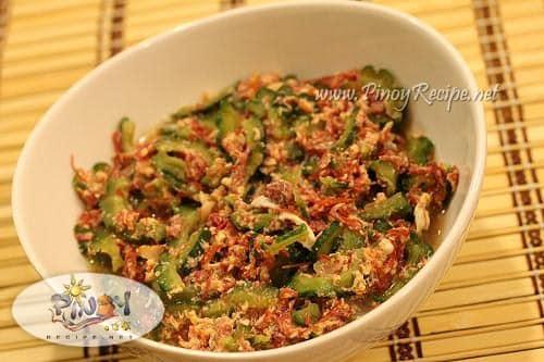 ginisang ampalaya with corned beef recipe