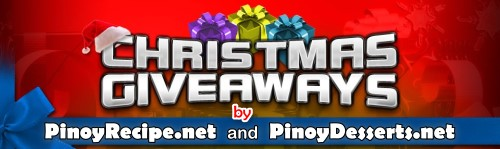 Pinoy Recipe.net Christmas Giveaways