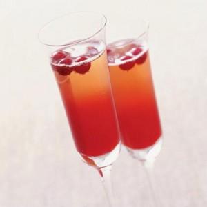 Crimson Spice Champagne Cocktails