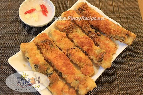bangus belly tempura recipe