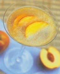 bellini-tini cocktail