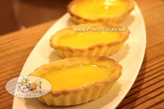 filipino egg tart