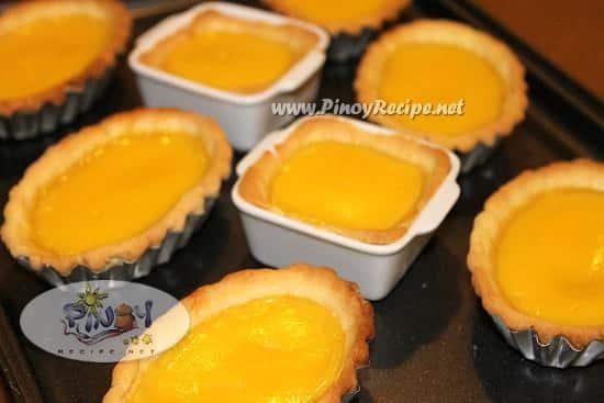 filipino egg tarts