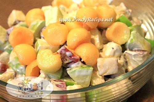 filipino fruity chicken salad recipe