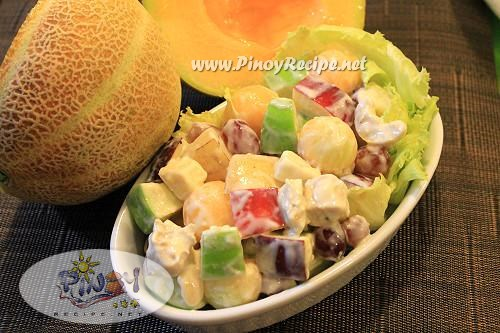 filipino fruity chicken salad
