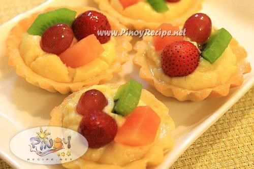 mini fruit tart dessert recipe