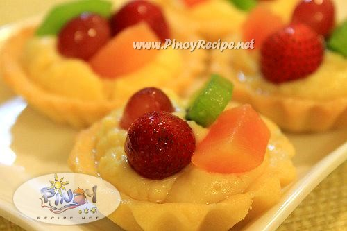 mini fruit tart recipe