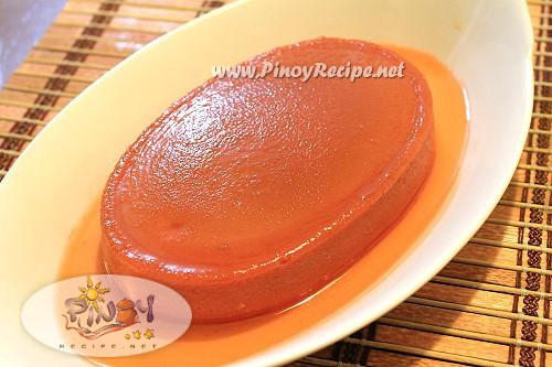 strawberry leche flan filipino recipe