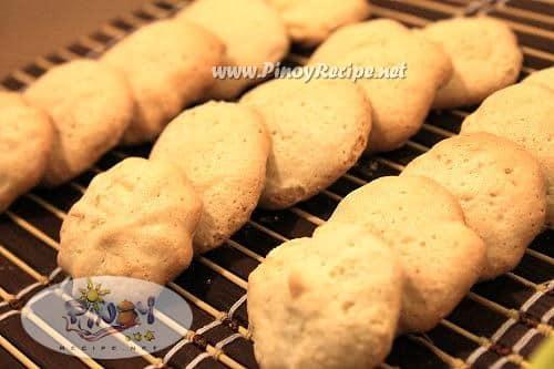 pacencia cookies or filipino meringue cookies