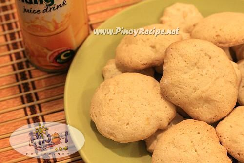 pacencia cookies or filipino meringue cookies recipe