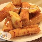 Turon Recipe or Banana Spring Rolls Recipe