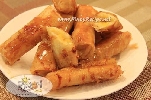 turon filipino recipe