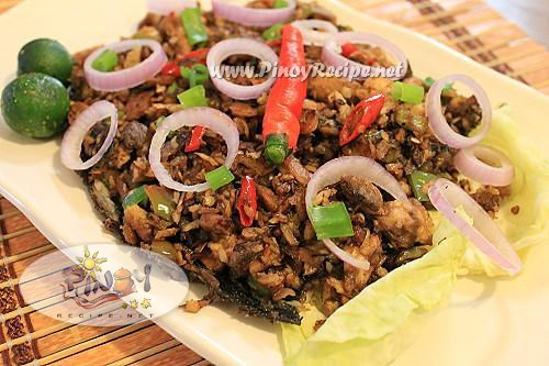 how to make bangus sisig