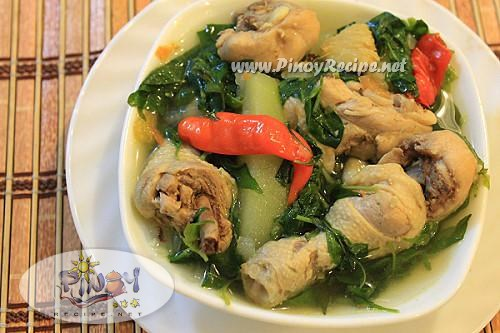 Top 20 filipino chicken recipes filipino recipes portal chicken tinola or tinolang manok recipe forumfinder Gallery