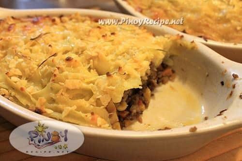 filipino Shepherds Pie