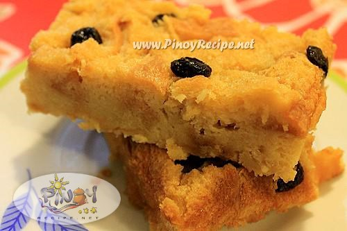 filipino bread pudding recipe