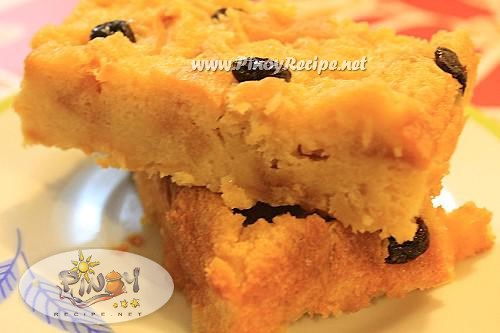 filipino bread pudding