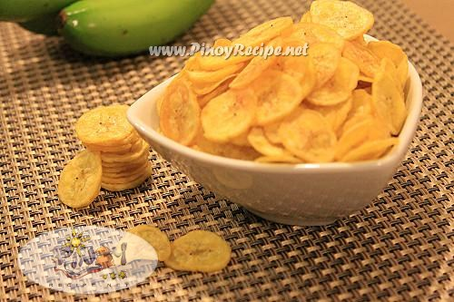 banana chips filipino recipe